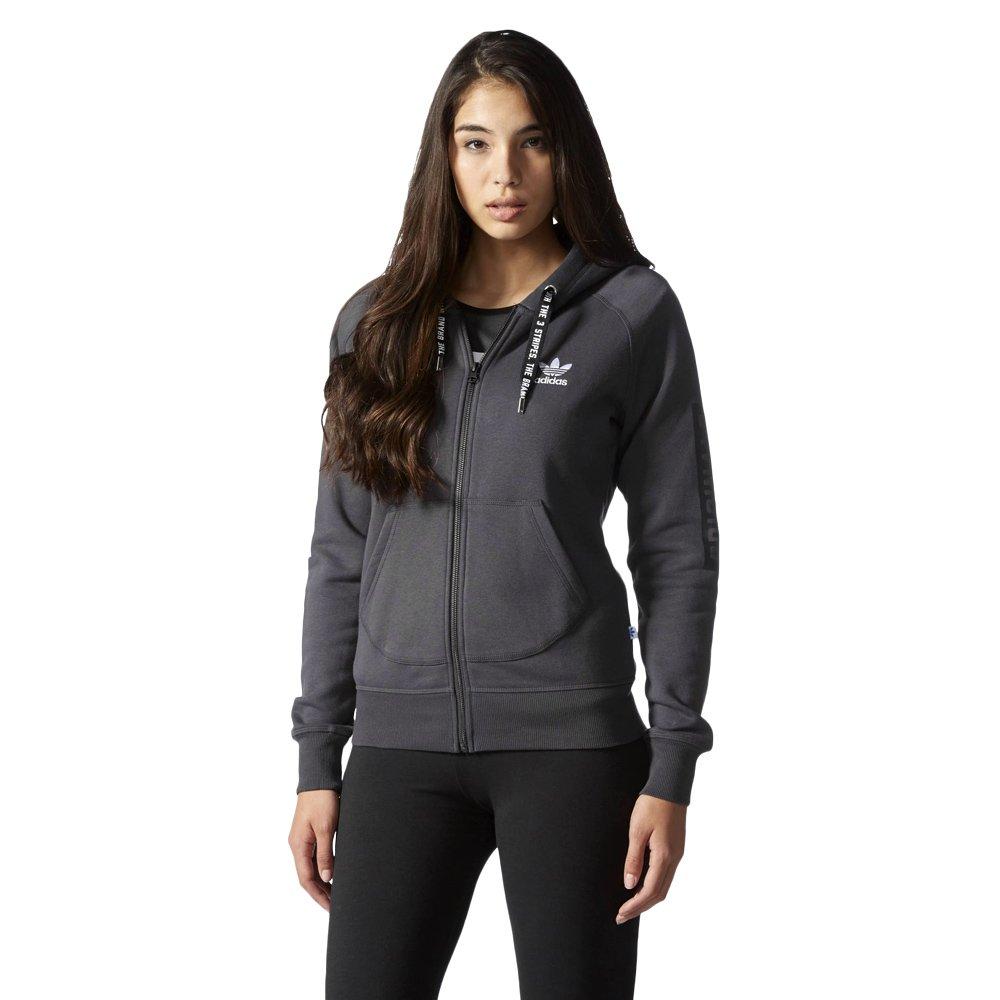 5e1b6e5b Bluza Adidas Originals Hoodie damska dresowa sportowa rozpinana z kapturem
