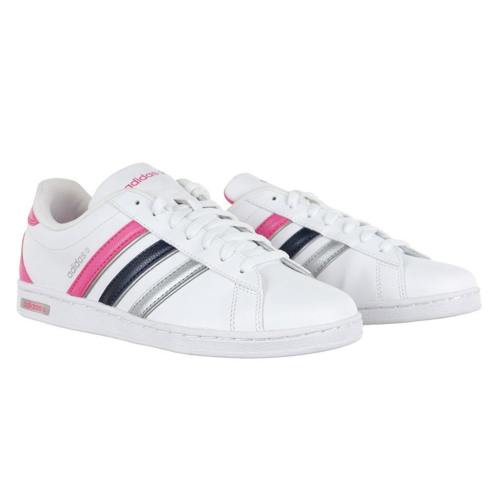 Buty damskie Adidas NEO DERBY sportowe skórzane