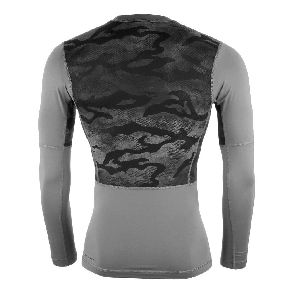 113b06ba ... Koszulka Reebok Workout męska kompresyjna na długi rękaw sportowa ...