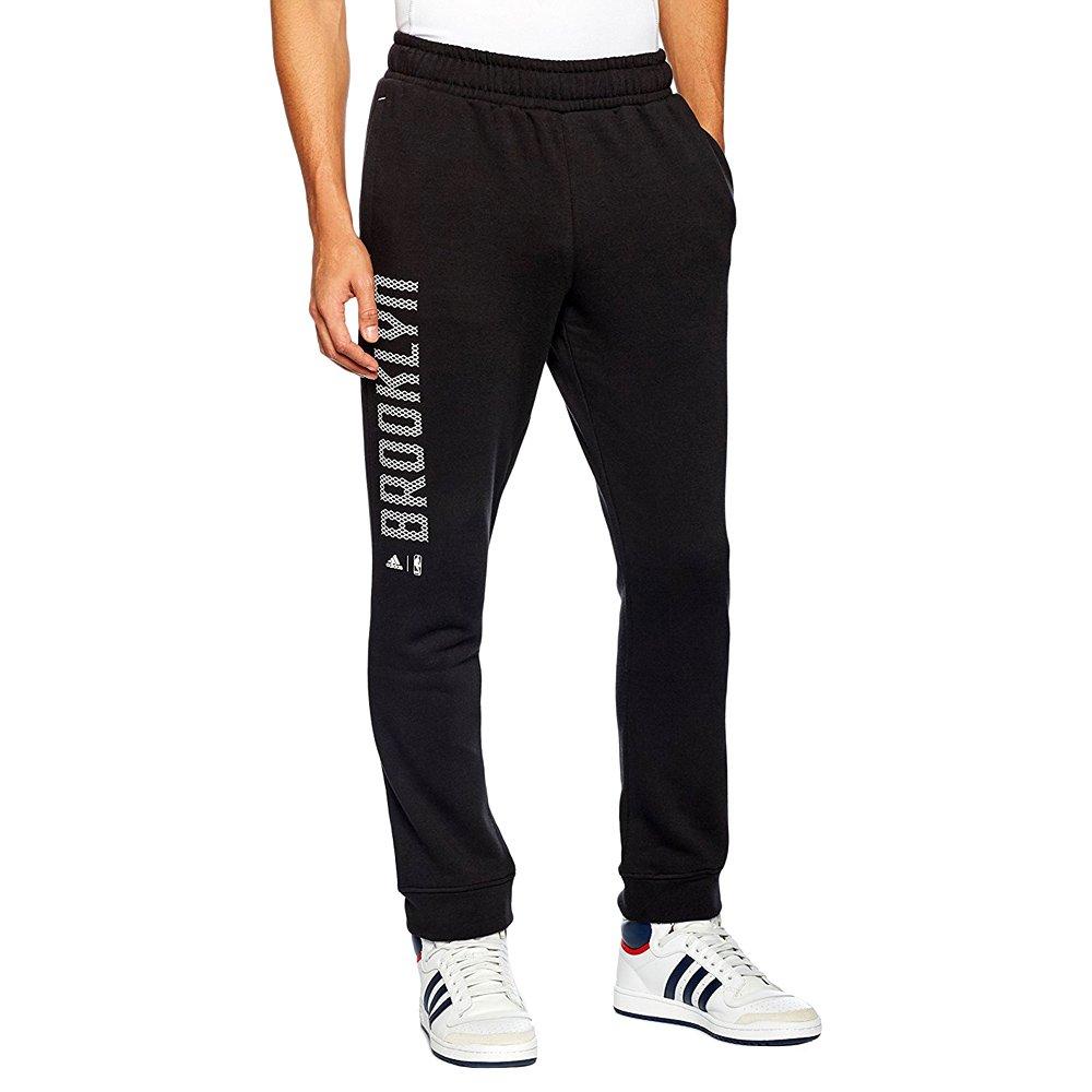 100% autentyczny renomowana strona sprzedaż obuwia Spodnie Adidas Fan Wear Brooklyn Nets męskie dresy sportowe