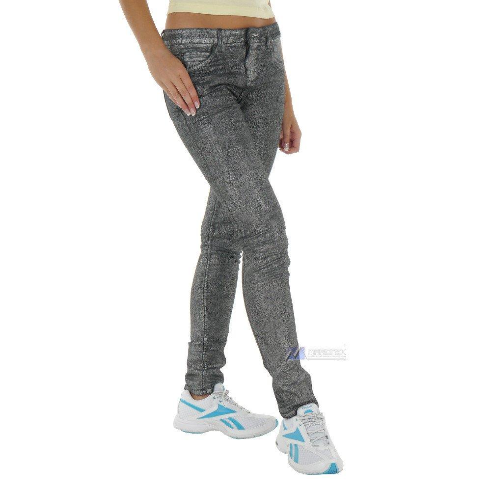 9b8df4d2 Spodnie Adidas Originals Women's Easy Five damskie jeansowe rurki szare