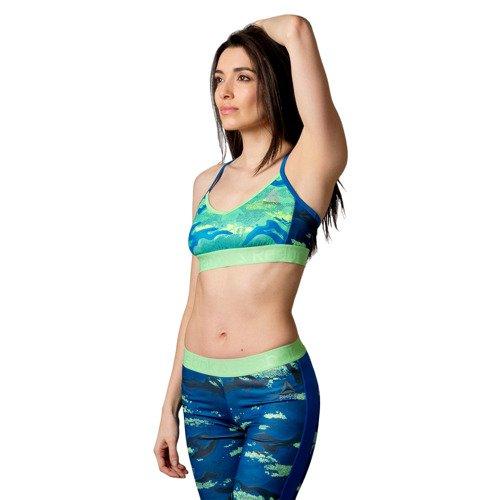 Biustonosz Reebok Workout Ready Skinny Bra stanik top sportowy treningowy
