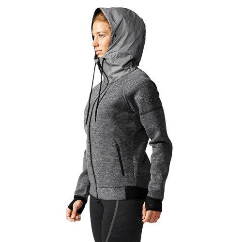 Bluza Adidas Standard 19 damska ocieplana sportowa rozpinana z kapturem