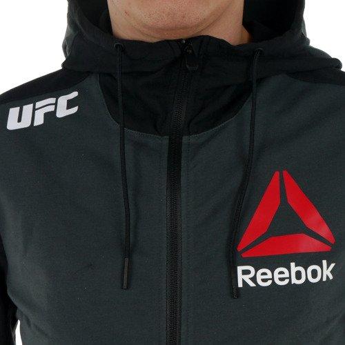 Bluza Reebok Combat UFC Blank Walkout Hoody męska dresowa sportowa z kapturem