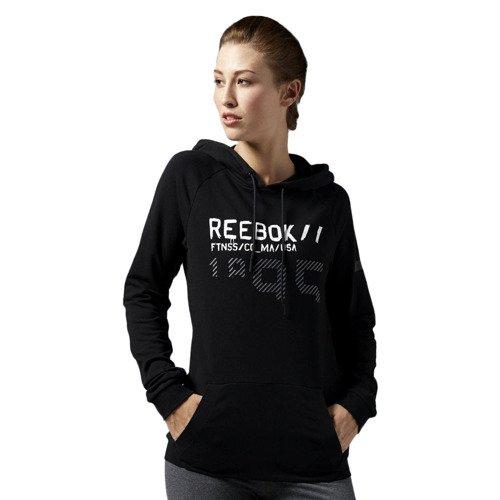 Bluza Reebok Workout C Hoody damska sportowa z kapturem