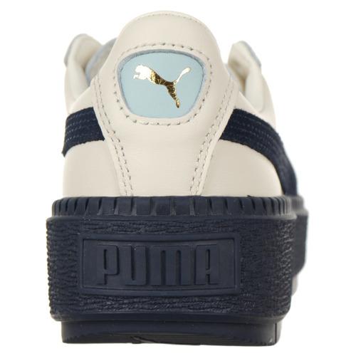 Buty Puma Basket Platform Trace Block damskie sportowe skórzane