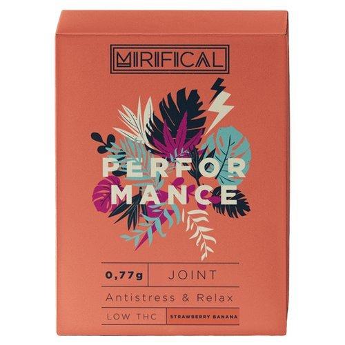 Komplet 5 Joint'ów Mirifical Pre-Rolls Premium CBD 0,7g Strawberry-Banana Performance