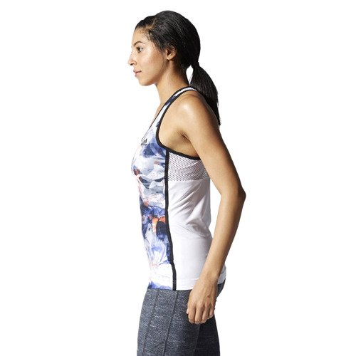 Koszulka Adidas Gym Style Edge damska bokserka top sportowy