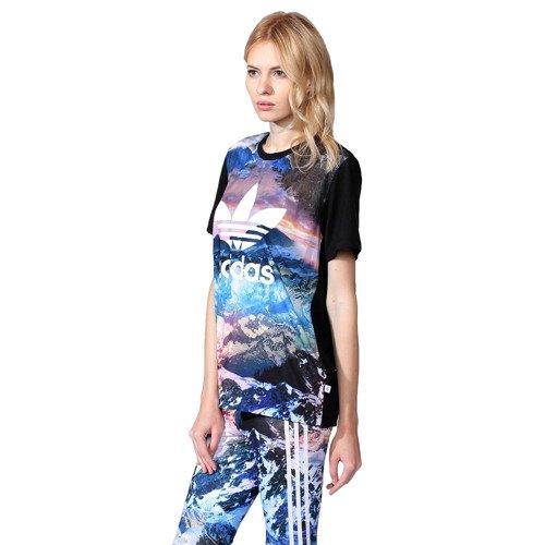 Koszulka Adidas Originals Mountain Clash damska t-shirt sportowy z printem