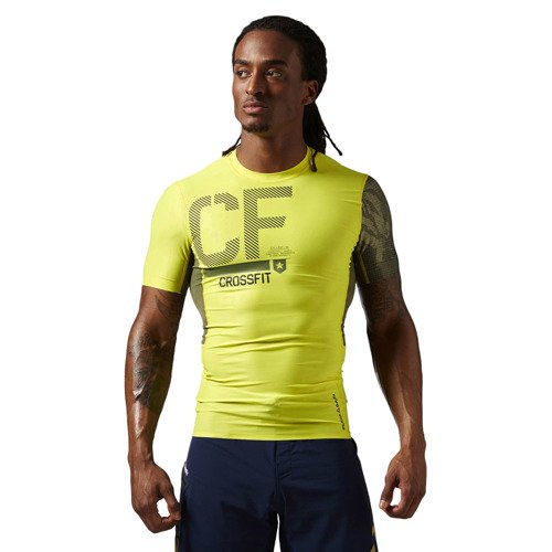 Koszulka Reebok CrossFit SS Compression męska kompresyjna treningowa