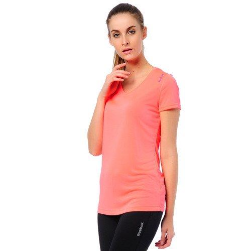 Koszulka Reebok Workout damska t-shirt sportowy termoaktywny