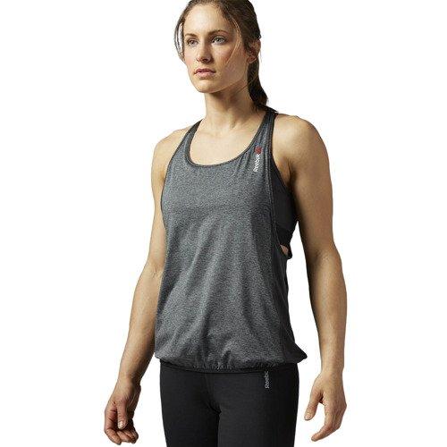 Koszulka ze stanikiem Reebok One Series Long Bra damska top termoaktywny