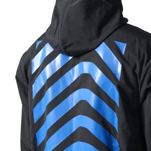 Kurtka Adidas Originals New York City męska sportowa wiatrówka z kapturem