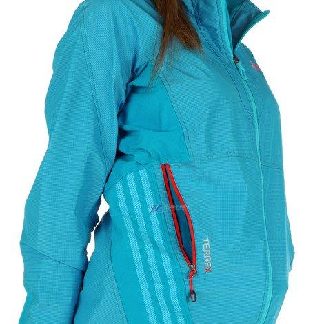 Kurtka Adidas Terrex Hybrid damska sportowa wiatrówka outdoor trekkingowa