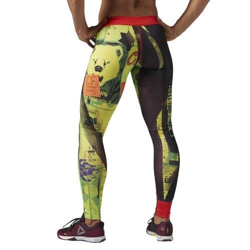 Legginsy Reebok CrossFit Chase damskie getry dwustronne sportowe