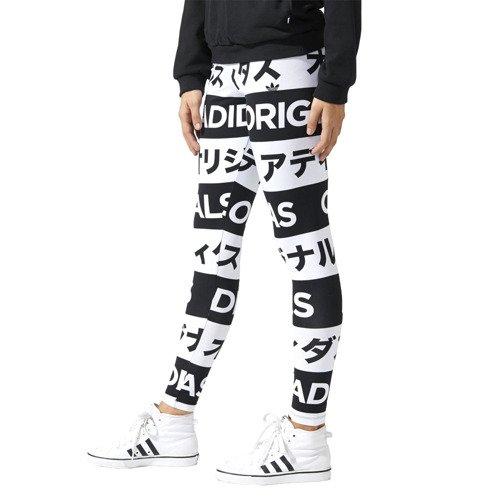 Legginsy damskie Adidas Originals Typo leginsy getry sportowe