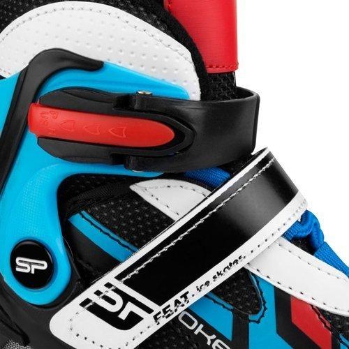 Łyżworolki Spokey Feat 4in1 łyżwy rolki rekreacyjne z karbonowymi łożyskami