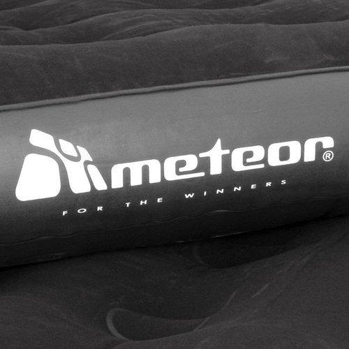 Materac Flokowany Meteor Inflatable Matress Single 188x74x22 cm jednoosobowy welurowy