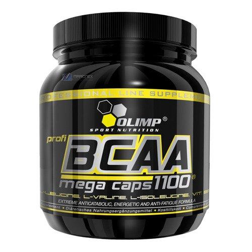 OLIMP BCAA 1100 mg Mega Caps 300-kapsułek aminokwasy