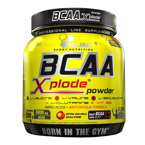 OLIMP BCAA Xplode Powder w proszku 500g aminokwasy