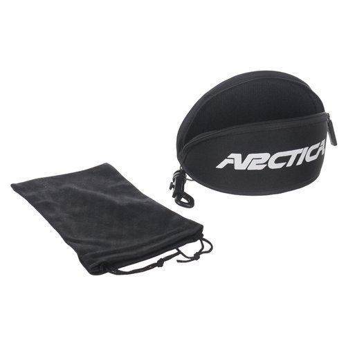 Okulary przeciwsłoneczne Arctica S-297 sportowe z polaryzacją UV400 + etui i pokrowiec