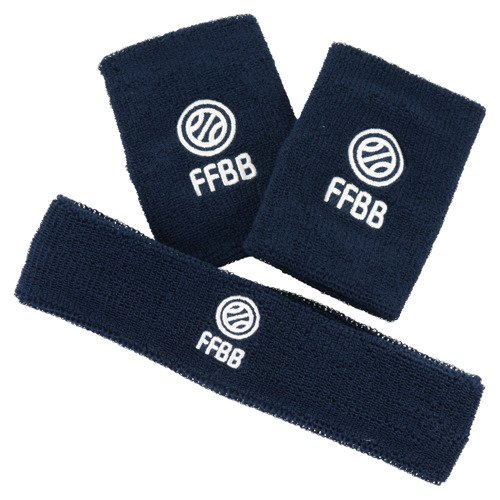 Opaska Adidas French Federation of Basketball opaski frotki na nadgarstek na głowę