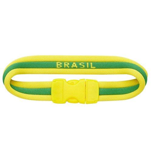 Opaska kibica Adidas CF Flag Brazylia bransoletka na nadgarstek na rękę