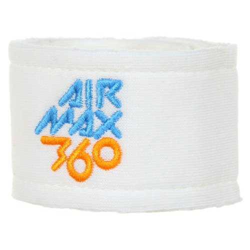 Opaska na nadgarstek Nike Air Max 360 unisex frotka frota sportowa na guziki