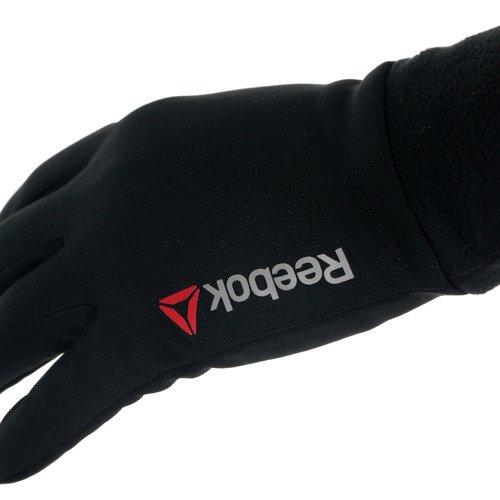Rękawiczki Reebok One Series Winter męskie z polarem sportowe zimowe