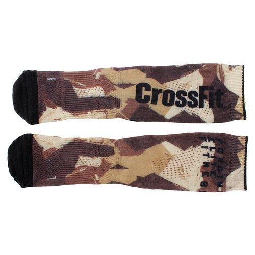 Skarpety Reebok CrossFit Print Camo Crew męskie skarpetki sportowe treningowe