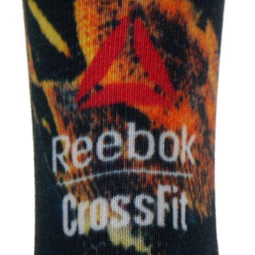 Skarpety Reebok CrossFit Print Wildlife II Crew unisex skarpetki sportowe treningowe