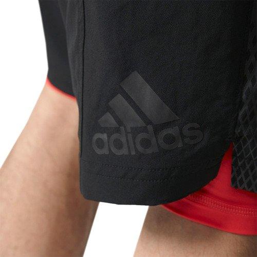 Spodenki Adidas 2w1 A2G 2IN1 męskie sportowe treningowe do biegania