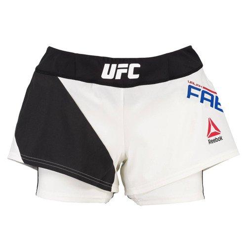 Spodenki Reebok Combat UFC Fan Octagon Short Urijah Faber damskie sportowe treningowe na siłownie