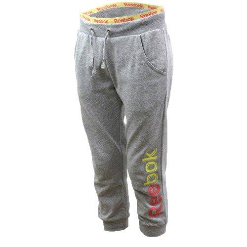 Spodnie 3/4 Reebok Pants Capri dziecięce juniorskie  młodzieżowe dresowe sportowe