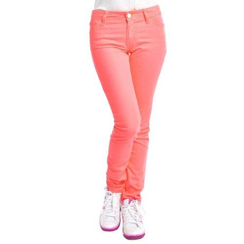 Spodnie Adidas ST DNM rurki damskie jeansy dżinsowe