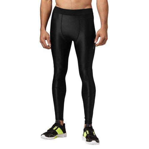 Spodnie Reebok CrossFit Postwork męskie getry kompresyjne termoaktywne