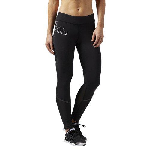 Spodnie Reebok Les Mills damskie legginsy getry termoaktywne sportowe